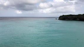 美丽的港口,格罗特Knip,库拉索岛 股票视频