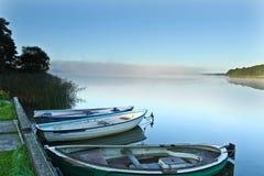 美丽的湖在丹麦 库存照片