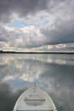美丽的湖在丹麦 库存图片