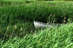 美丽的湖在丹麦 免版税库存图片