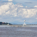 美丽的湖 免版税库存照片