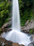 美丽的瀑布七个姐妹在印度 免版税图库摄影