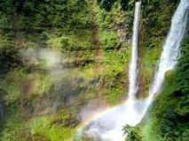 美丽的瀑布 Tad风扇瀑布在南老挝 它是p 免版税库存图片
