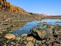 美丽的火山岩 免版税库存图片