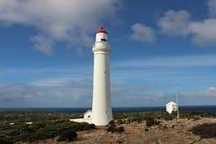 美丽的灯塔海角纳尔逊在澳大利亚 免版税库存照片