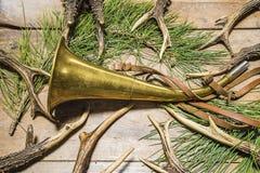 美丽的狩猎战利品 免版税库存照片