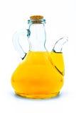 美丽的瓶穿戴的油橄榄香料 免版税库存图片