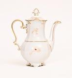美丽的瓷茶壶 免版税库存照片