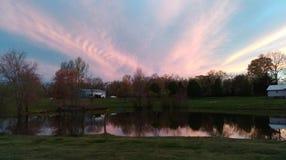 美丽的田纳西天空 免版税库存图片
