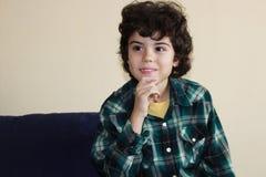美丽的男孩 免版税图库摄影