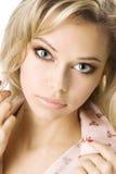 美丽的白肤金发的年轻人 图库摄影