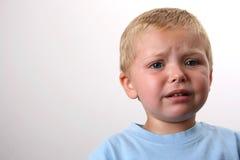 美丽的白肤金发的男孩 库存图片