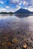 美丽的盐水湖 免版税图库摄影