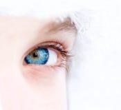 美丽的眼睛 库存照片