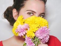 美丽的眼睛 免版税图库摄影