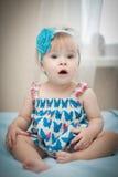 美丽的矮小的婴孩。 库存图片