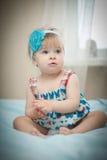 美丽的矮小的婴孩。 免版税图库摄影