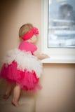 美丽的矮小的婴孩。 免版税库存照片
