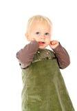 美丽的矮小的婴孩 免版税库存照片
