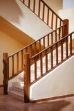 美丽的石楼梯 库存图片
