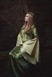 美丽的童话未婚 免版税库存照片