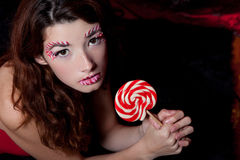 美丽的糖果 库存图片