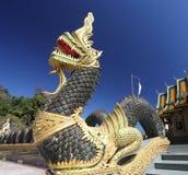 美丽的纳卡人寺庙 免版税库存照片