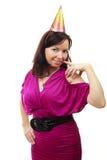 美丽的纵向性感的妇女年轻人 免版税库存照片