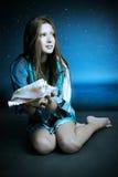 美丽的美人鱼 免版税图库摄影