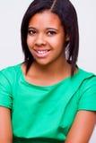 美国黑人的女孩 免版税库存照片