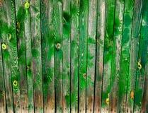 美丽的老五颜六色的木篱芭 免版税库存图片