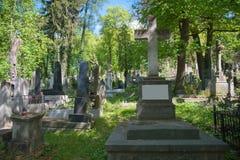 美丽的老公墓 免版税图库摄影
