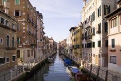 美丽的老别墅在威尼斯意大利, 库存照片