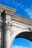 美丽的老曲拱 免版税库存照片