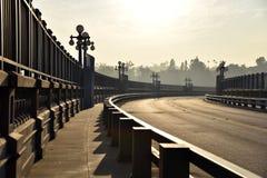美丽的老桥梁 图库摄影