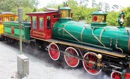 美丽的老火车 免版税库存图片