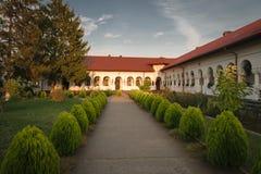 美丽的胡同在Prahova,罗马尼亚,欧洲 库存照片