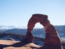 美丽的自然曲拱 免版税库存图片
