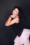 美丽的舞蹈演员女孩 库存图片