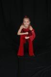 美丽的舞蹈演员年轻人 免版税库存照片