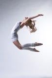 美丽的舞蹈演员现代样式 免版税库存图片