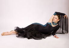 美丽的舞蹈演员礼服 库存照片