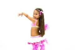 美丽的舞蹈演员 免版税库存图片