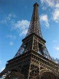 美丽的艾菲尔铁塔,巴黎 免版税库存图片