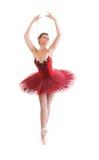 美丽的芭蕾舞女演员 免版税库存图片