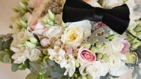 美丽的花束新娘 影视素材