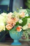 美丽的花束花 免版税图库摄影