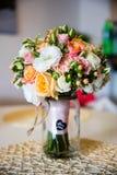 美丽的花束花 免版税库存图片