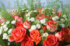 美丽的花背景  免版税库存图片
