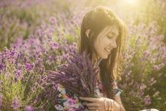 美丽的花画象 图库摄影